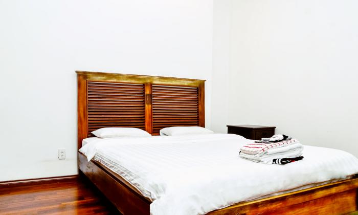 Wooden Style One Bedroom Serviced Apartment in District 1 HCMC