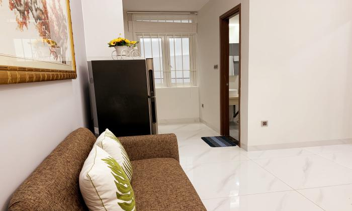 Good Rent One Bedroom Apartment For Rent in Nguyen Cu Trinh District 1 HCMC