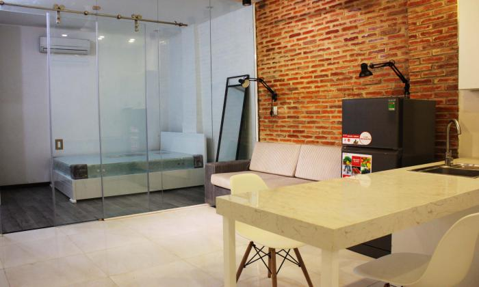Modern Interior Studio Serviced Apartment For Rent Near BenThanh Market