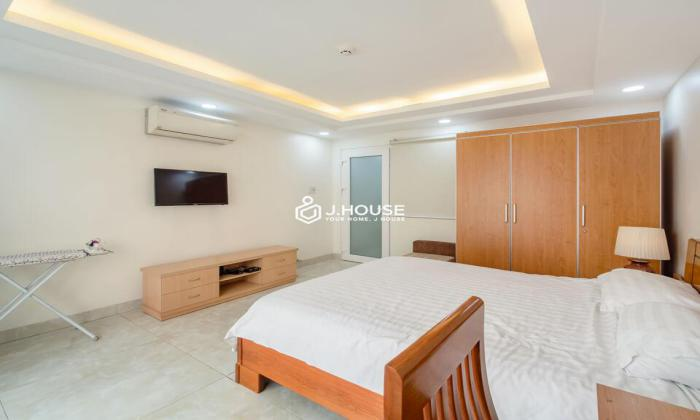 One Bedroom Serviced Apartment For Rent in Nguyen Thai Binh Street District 1 HCMC