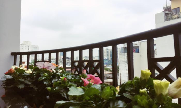 One Bedroom Serviced Apartment With Stunning Balcony in District 1 HCMC