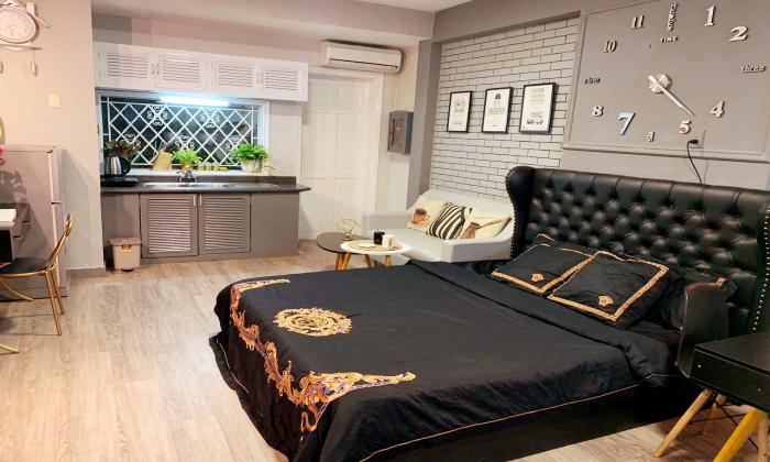 Vintage Designed Studio Serviced Apartment in Dakao District 1 Ho Chi MinH City