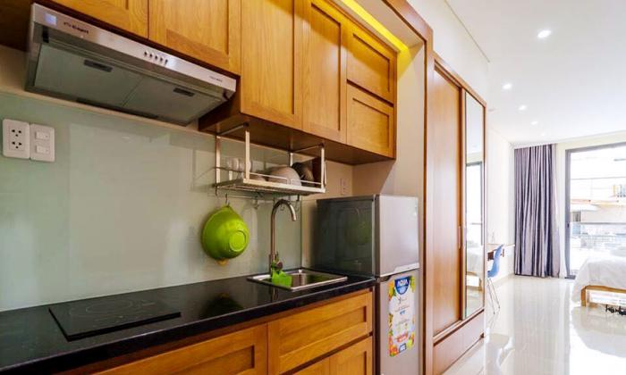 Nice Studio With Private Balcony For Rent in District 1 Ho Chi Minh City