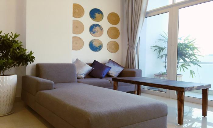 Top Floor One Bedroom Serviced Apartment For Rent in District 1 HCMC