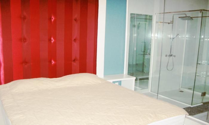 Beautiful Serviced Apartment For Rent, Big Balcony District 1, HCMC