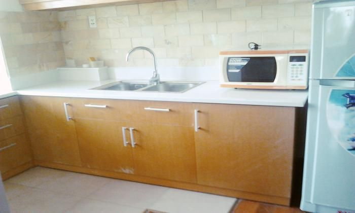 Wooden Floor One Bed Serviced Apartment  in District 5, HCMC