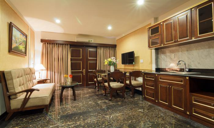 Luxury Serviced Apartment For Rent On Tran Hung Dao Street  HCM City