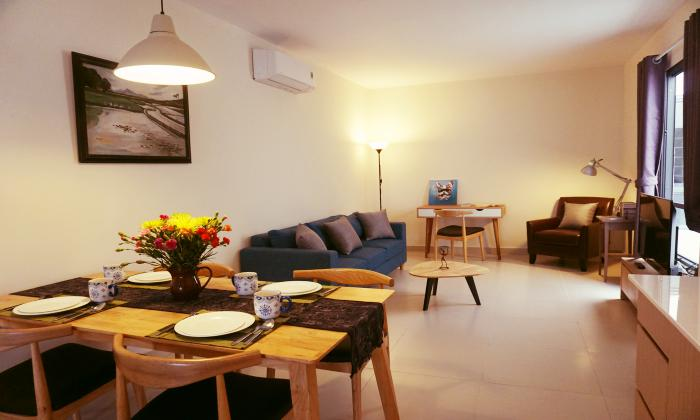 One Bedroom Aspire Saigon Serviced Apartment For Lease in District 1 Ho Chi Minh City