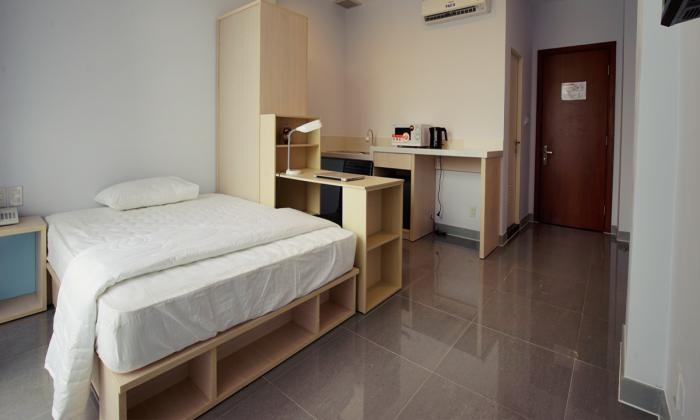 Japanese Style Studio Serviced Apartment For Rent In District 1, HCMC