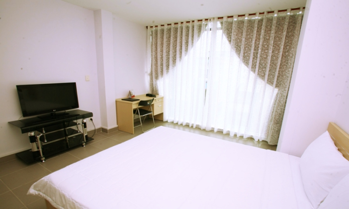 Serviced Apartment For Rent Near Ben Thanh Market, District 1, HCMC