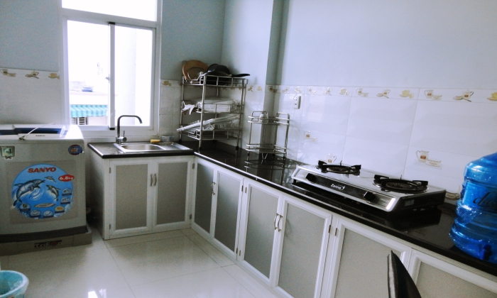 Two Bedrooms Serviced Apartment For Rent In Center Ho Chi Minh City