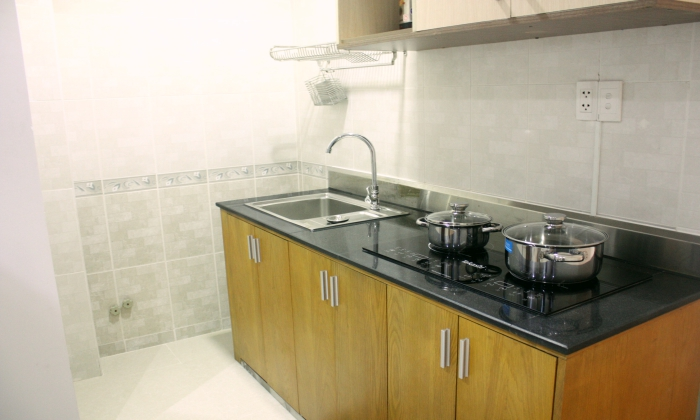 Serviced Apartment For Rent With Separate Living Room, Dist 1, HCMC