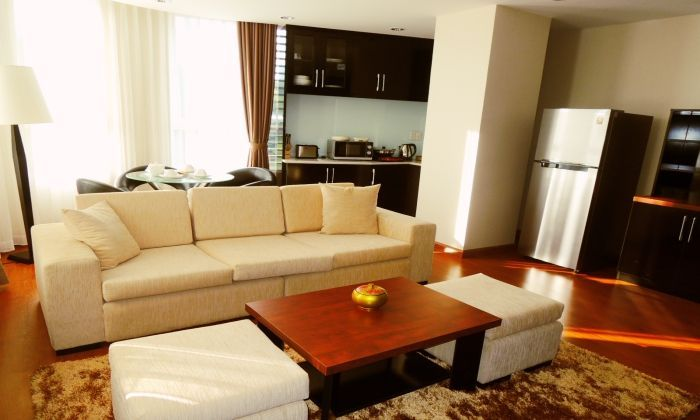 2 Bedrooms Compass Living Serviced Apartment For Rent, District 1 ,HCMC