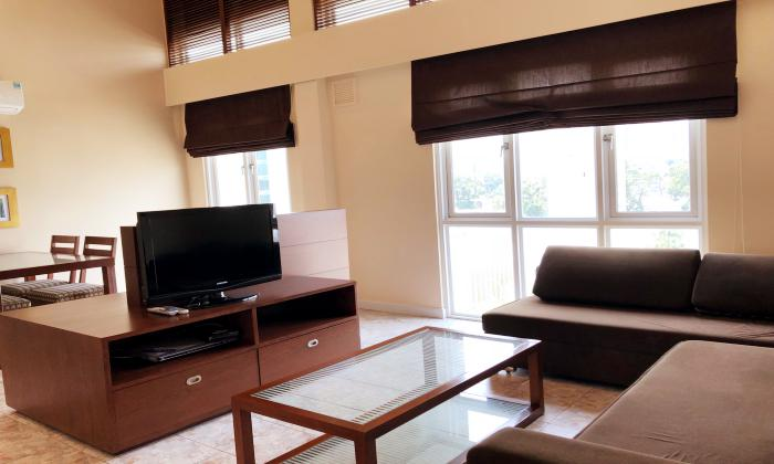 HBT Court Duplex Two Bedroom Apartment For Rent in District 1 Ho Chi Minh City