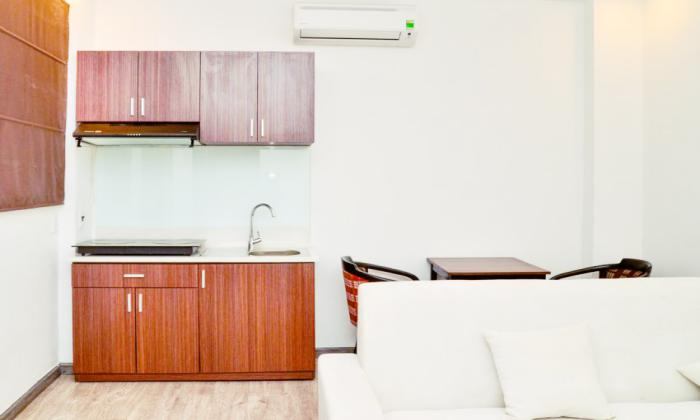 Elegant One Bedroom Serviced Apartment For Rent in Center Saigon