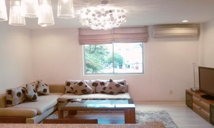 Two Bedrooms Serviced Apartment For Rent In Dist. 1, HCM City