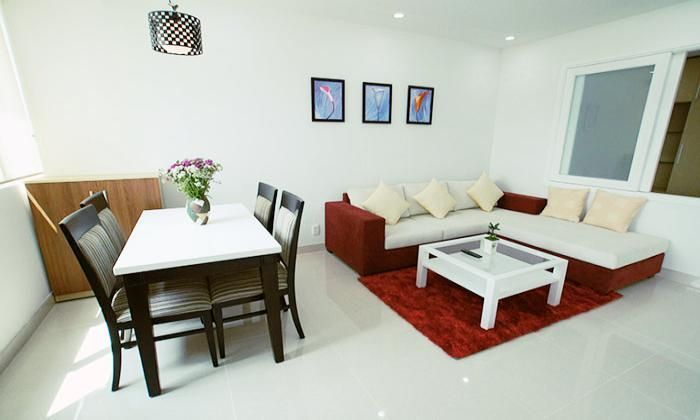 Wonderful One Bedroom Serviced Apartment in International Plaza, Dist1