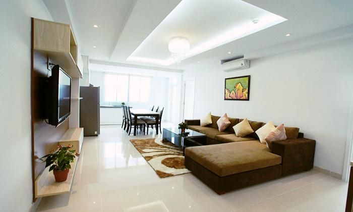 Charming Two Bedrooms Serviced Apartment For Rent, Dist 1, HCM City