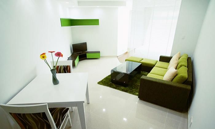 Friendly Natural Color One Bedroom Serviced Apartment For Rent, Dist 1