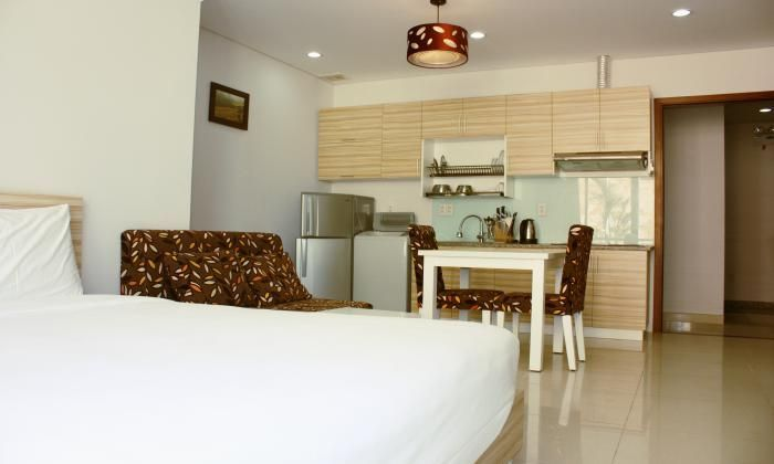 Stunning 1 Bedroom Serviced Apartment For Lease, District  3, HCM City