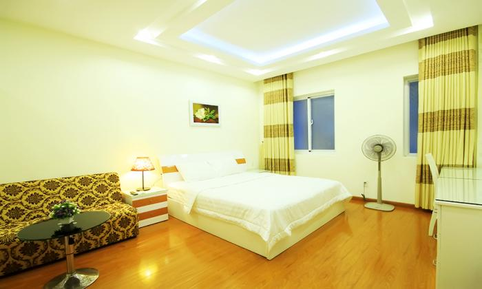 Stunning One Bedroom Serviced Apartment in Thai Van Lung Street District 1 HCMC