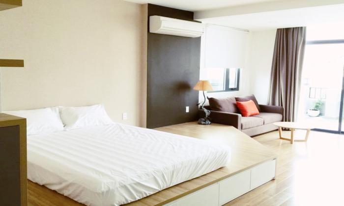 Big Balcony Studio Serviced Apartment in District 1 Ho Chi Minh City