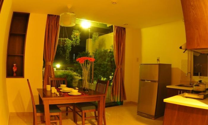 Great Serviced Apartment with A Big Bacolny - City Center View