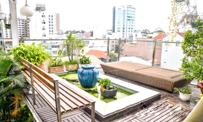 Stunning View One Bedroom Serviced Apartment For Rent in Saigon