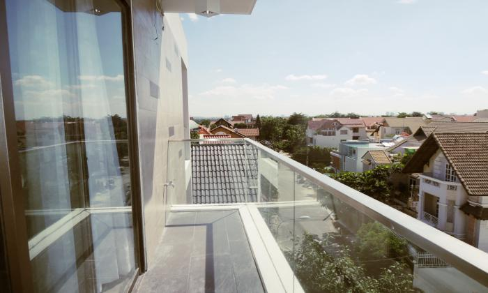Nice Balcony Serviced Apartment in Thao Dien District 2 HCMC