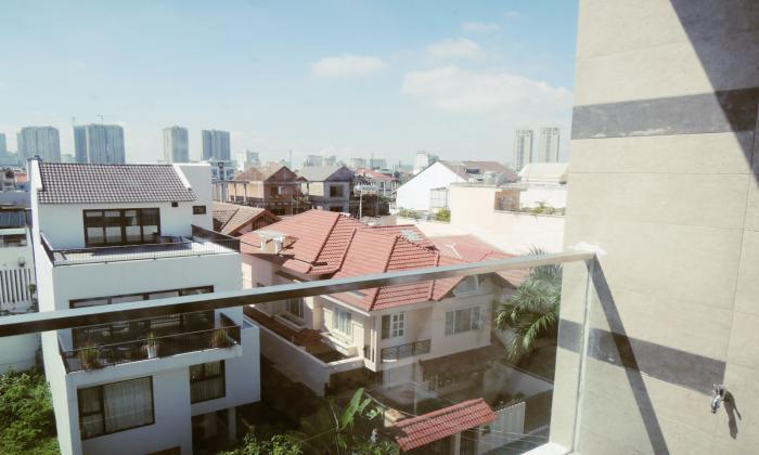 Stunning Balcony Serviced Apartment For Lease in Thao Dien District 2
