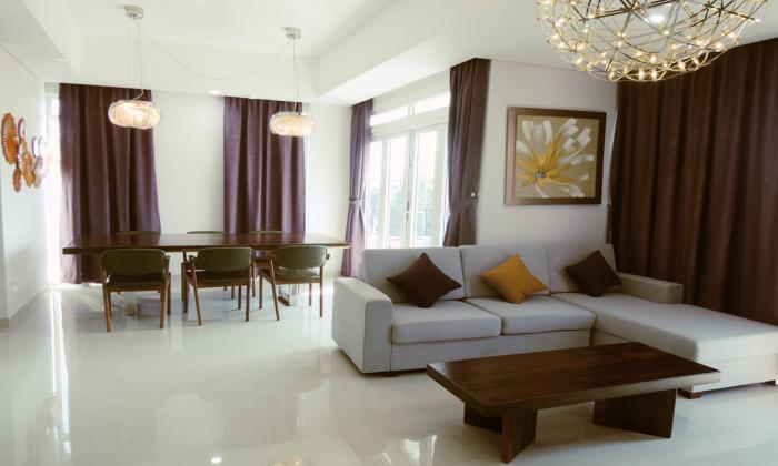 High Class Three Bedroom Serviced Apartment in Thao Dien District 2 HCMC
