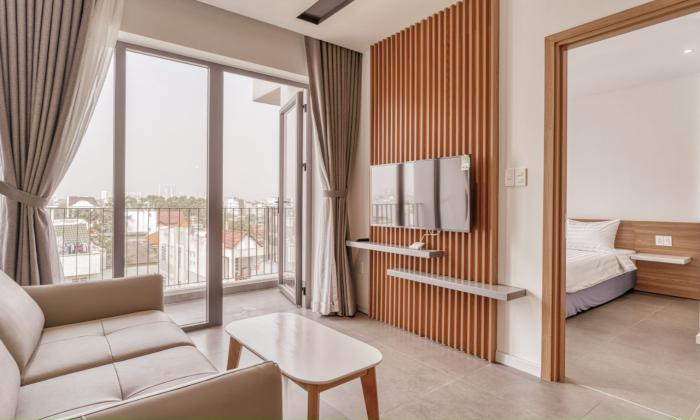 Big Balconies One Bedroom in Quoc Huong Street For Rent Thao Dien District 2 HCMC