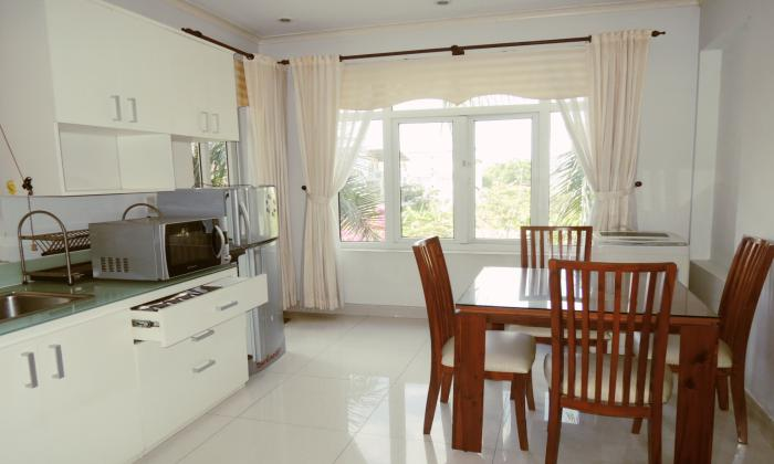 Very Quiet One Bedroom Serviced Apartment in Thao Dien District 2, HCM City