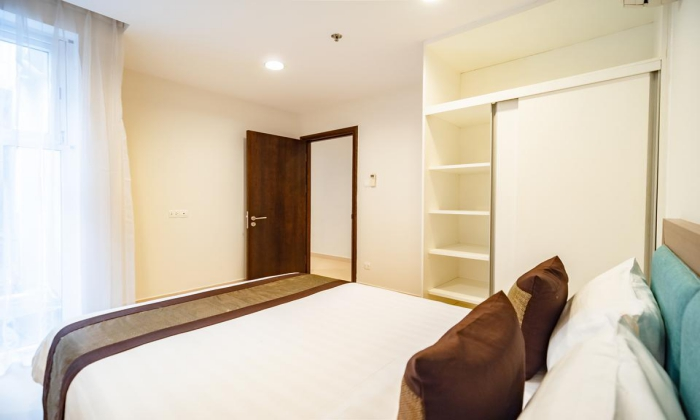 Two Bedroom Apartment Gleenwood Residence in 243 Nguyen Van Huong Thao Dien District HCMC