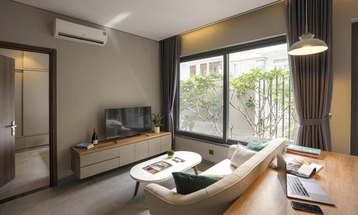 Two Bedroom Lam Villa Riverside Serviced Apartment For Rent in Road 34 Binh An District 2 HCMC