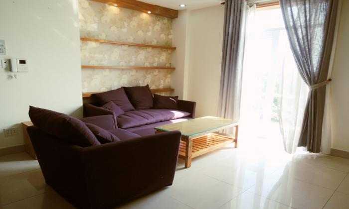 Two bedrooms Lotus Serviced Apartment in Thao Dien District 2 HCMC
