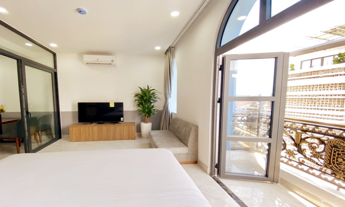 One Bedroom Monaco Apartment With Balcony in Thao Dien District 2 HCMC