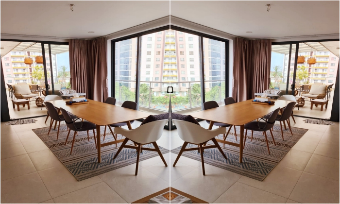Basic Furniture Penthouse Moon Light Serviced Apartment For Rent in Thao Dien District 2 HCMC