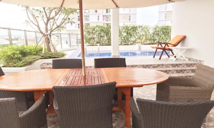 Nice Facilities Two  Bedroom Apartment For Lease in Thao Dien District 2 HCMC