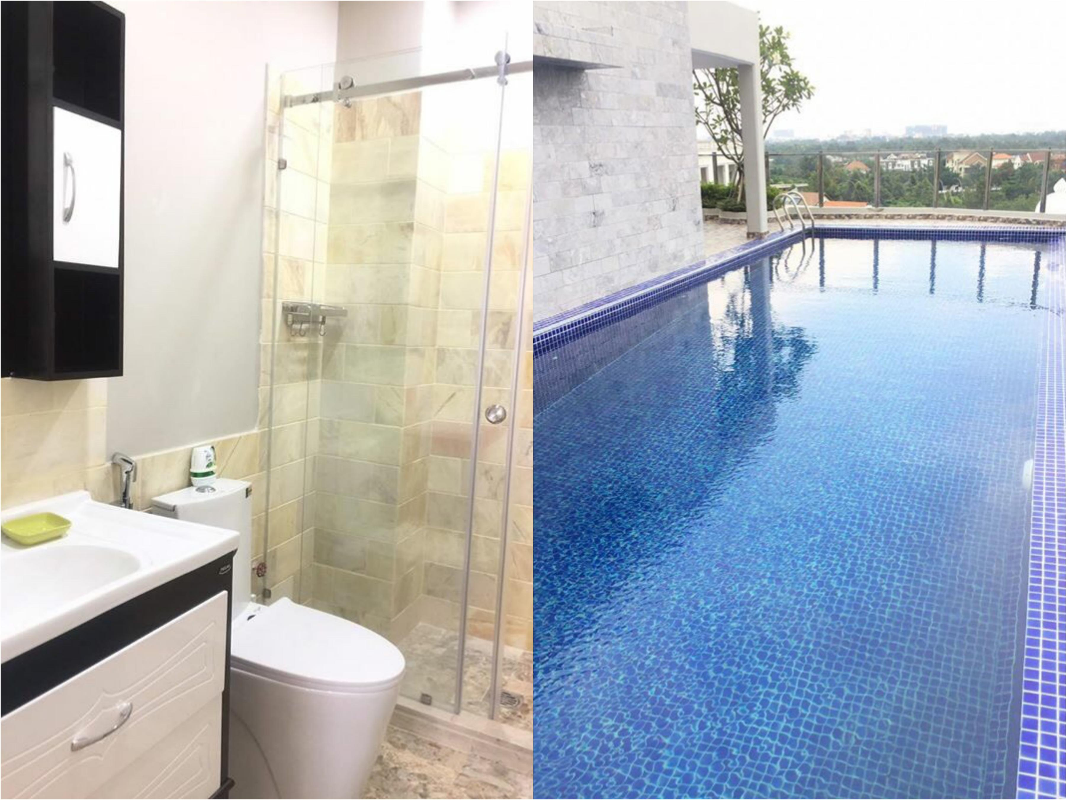 Nice Swimming Pool One Bedroom Serviced Apartment in Thao Dien Dist 2 HCMC