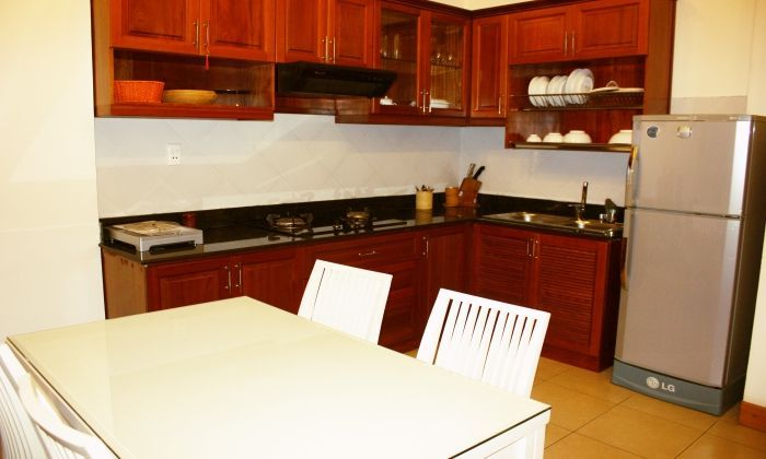 Reasonable Rental 1Bed/$600 Serviced Apartment For Rent: District 2