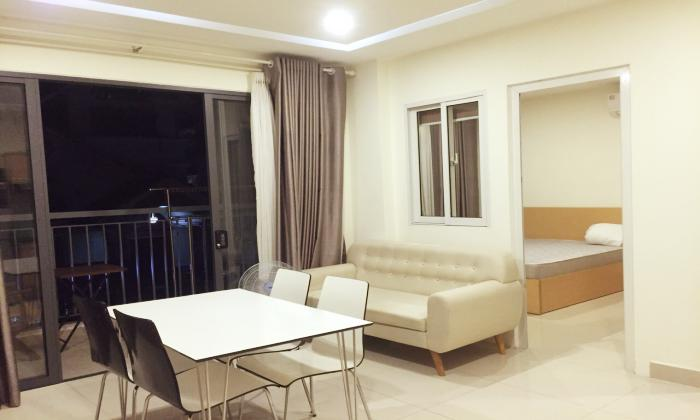 Balcony One Bedroom Apartment For Rent in 188 Nguyen Van Huong Thao Dien District 2 HCMC