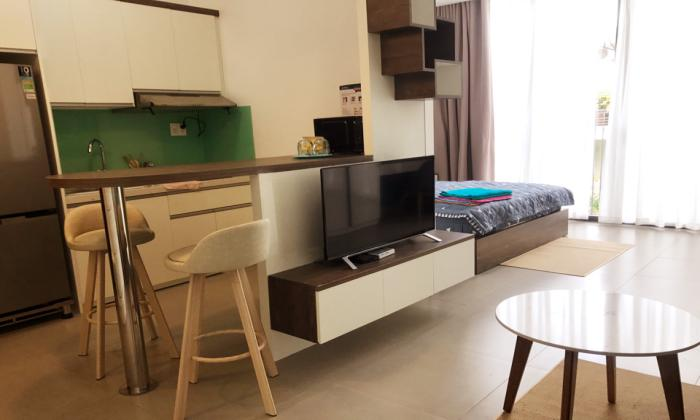 Very Modern One Bedroom Serviced Apartment For Lease in Thao Dien District 2 HCMC