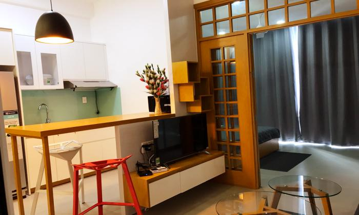 Fantastic Decoration Of One Bedroom Serviced Apartment in Thao Dien District 2 HCMC