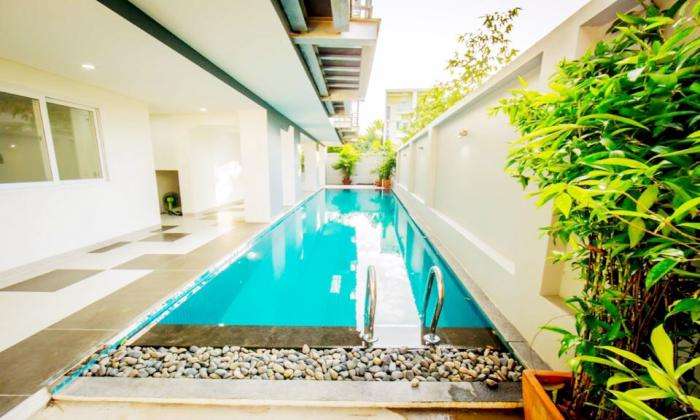Stunning Balcony Studio Apartment For Rent in Thao Dien District 2 Ho Chi Minh City