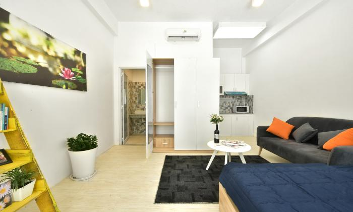 Brand New Studio Serviced Apartment in Thao Dien District 2 HCMC