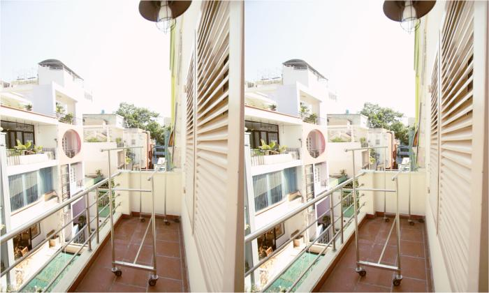 Bright Light Studio Apartment For Rent in District 3 Ho Chi Minh City
