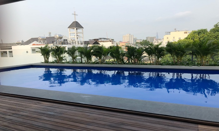 Amazing View One Bedroom Serviced Apartment in District 3 Ho Chi Minh City