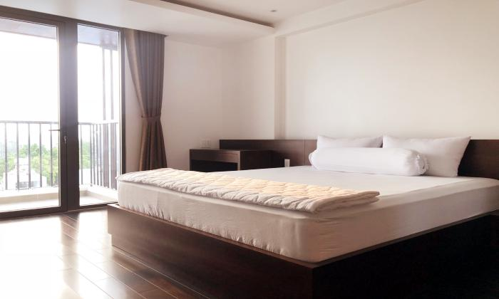 Wooden Style Two Bedroom Apartment For Rent in  District 3 Ho Chi Minh City