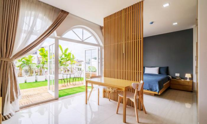 Nice Garden One Bedroom Serviced Apartment For Lease in District 3 Ho Chi Minh City